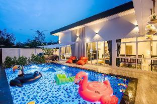 Let's Party Pool Villa / 10 mins drive to center วิลลา 6 ห้องนอน 6 ห้องน้ำส่วนตัว ขนาด 220 ตร.ม. – ทับใต้