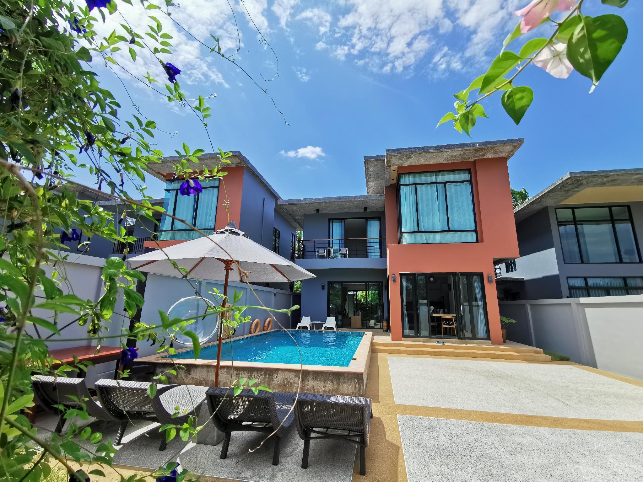 Aonang nine pool villa2 วิลลา 3 ห้องนอน 3 ห้องน้ำส่วนตัว ขนาด 170 ตร.ม. – อ่าวนาง