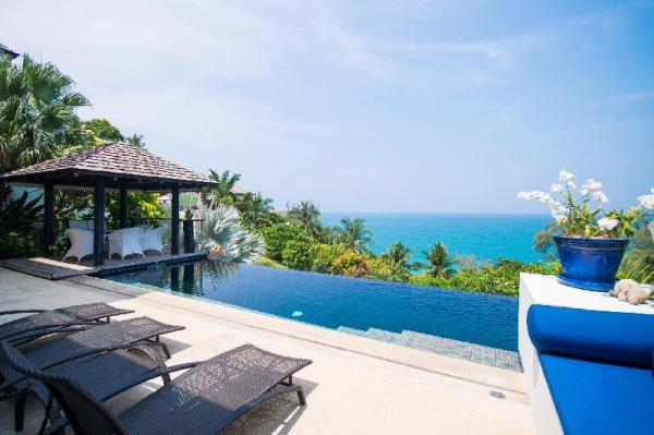 Spacious 5-Bedroom Seaview Villa at Surin Beach Phuket