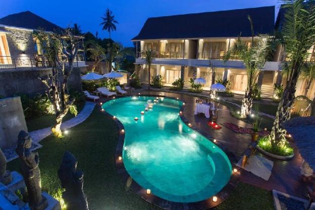 2BR Private Infinity  Pool Villa-Bfast+HotTub+ Spa