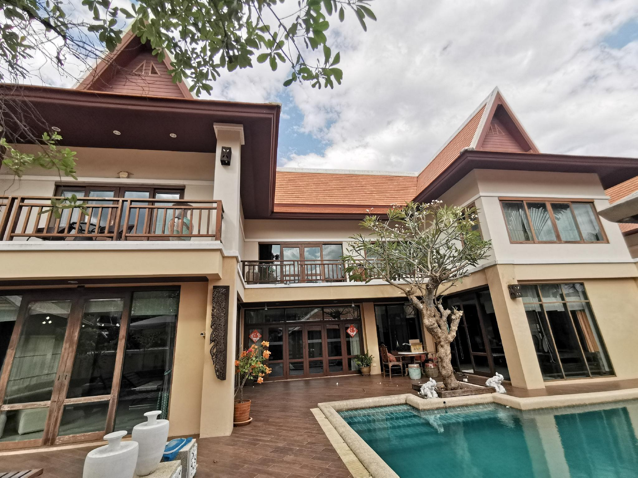 Luxury pool villa/5bedrooms/free motor use วิลลา 5 ห้องนอน 5 ห้องน้ำส่วนตัว ขนาด 1200 ตร.ม. – เขาพระตำหนัก