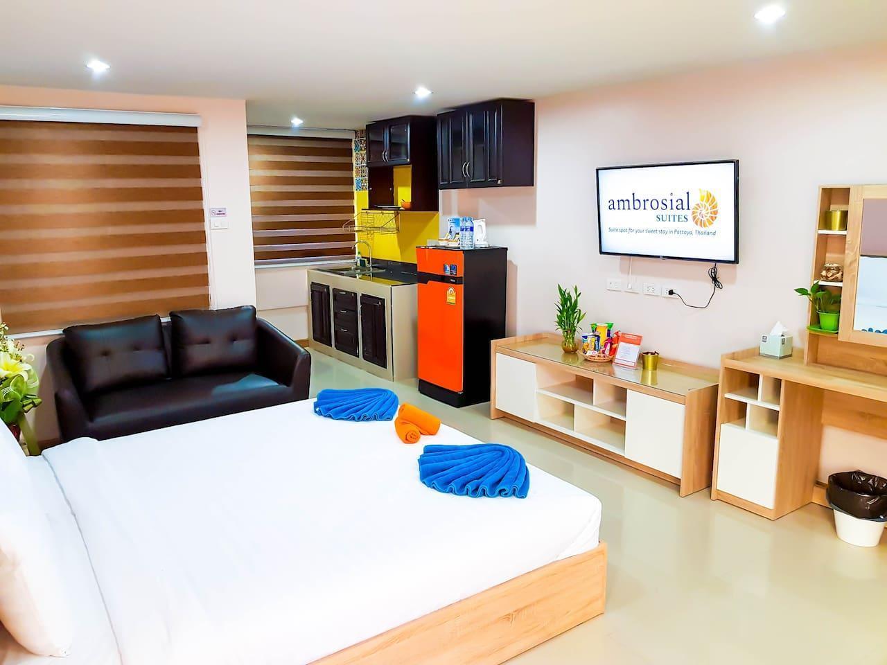 Ambrosial Suites Premium Room