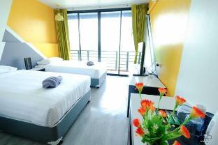 Playful Studio Room with Rayong Beach Sea View อพาร์ตเมนต์ 1 ห้องนอน 1 ห้องน้ำส่วนตัว ขนาด 24 ตร.ม. – หาดระยอง