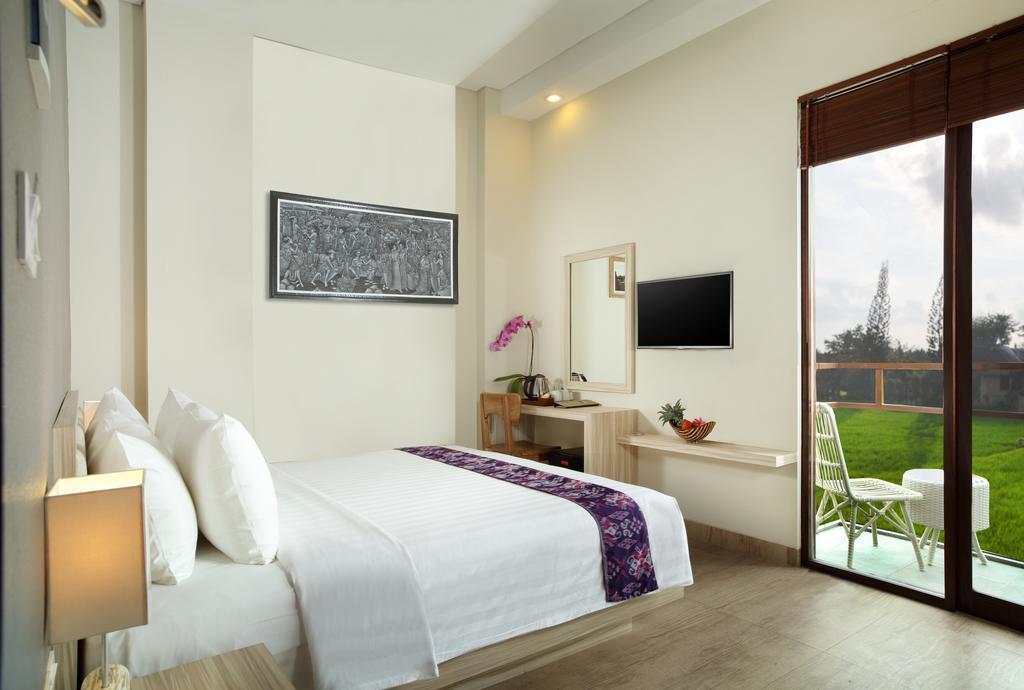 Deluxe Room. 1 BR+Brkfst+Mini Bar @ 141 Ubud