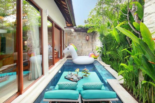 Awesome Villas at Seminyak with Private Pool 1BR