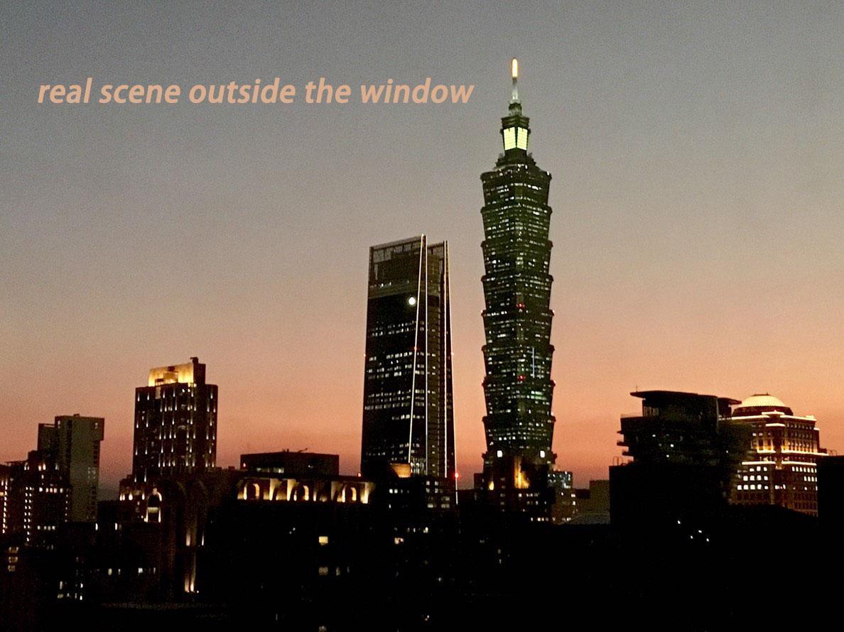 Taipei 101 view spacious LOFT, 2 bath 2  beds