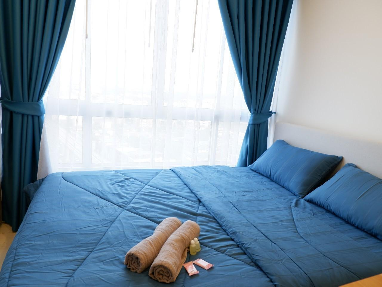 Europy CondoTels อพาร์ตเมนต์ 1 ห้องนอน 1 ห้องน้ำส่วนตัว ขนาด 28 ตร.ม. – ธนบุรี