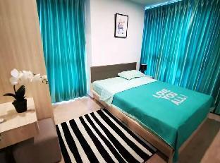 [スクンビット]アパートメント(27m2)| 1ベッドルーム/1バスルーム [Hou Ke] Fashion Fresh Garden View Big Bed Room