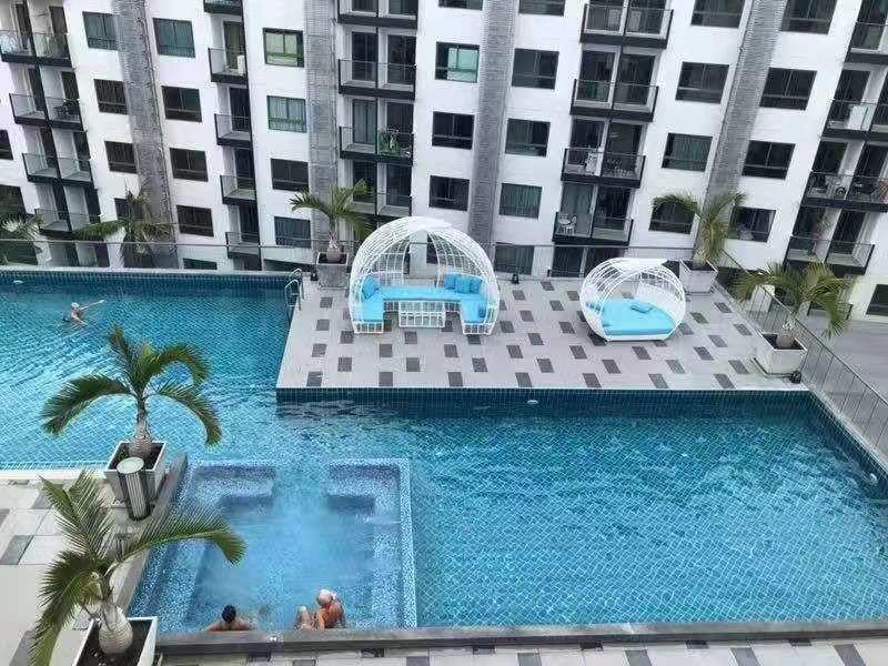 IDingker- Arcadia Beach Resort- Banana อพาร์ตเมนต์ 1 ห้องนอน 1 ห้องน้ำส่วนตัว ขนาด 25 ตร.ม. – เขาพระตำหนัก