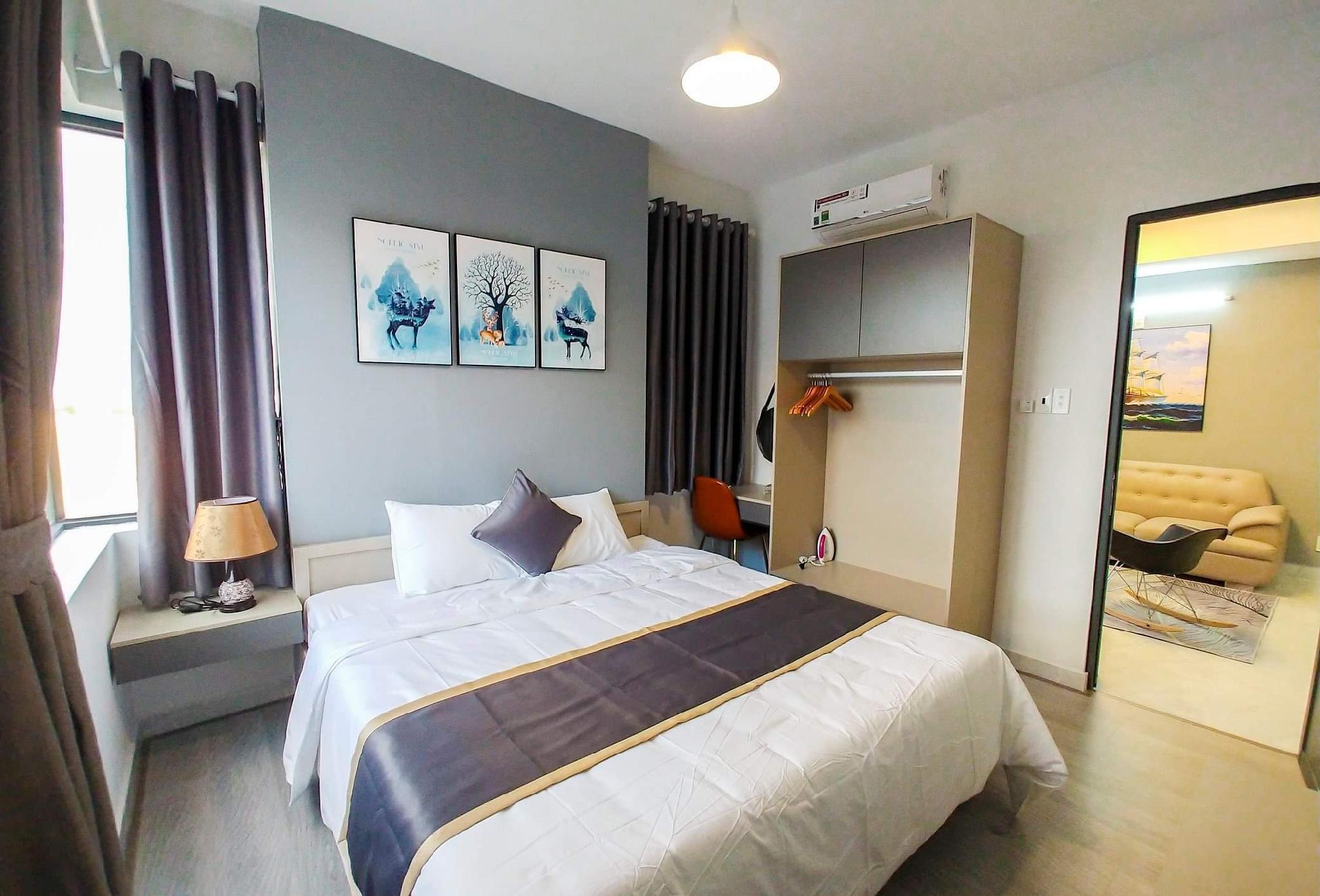 Seaside  2 Bedroom Apartment+Sunny Balcony A2.07