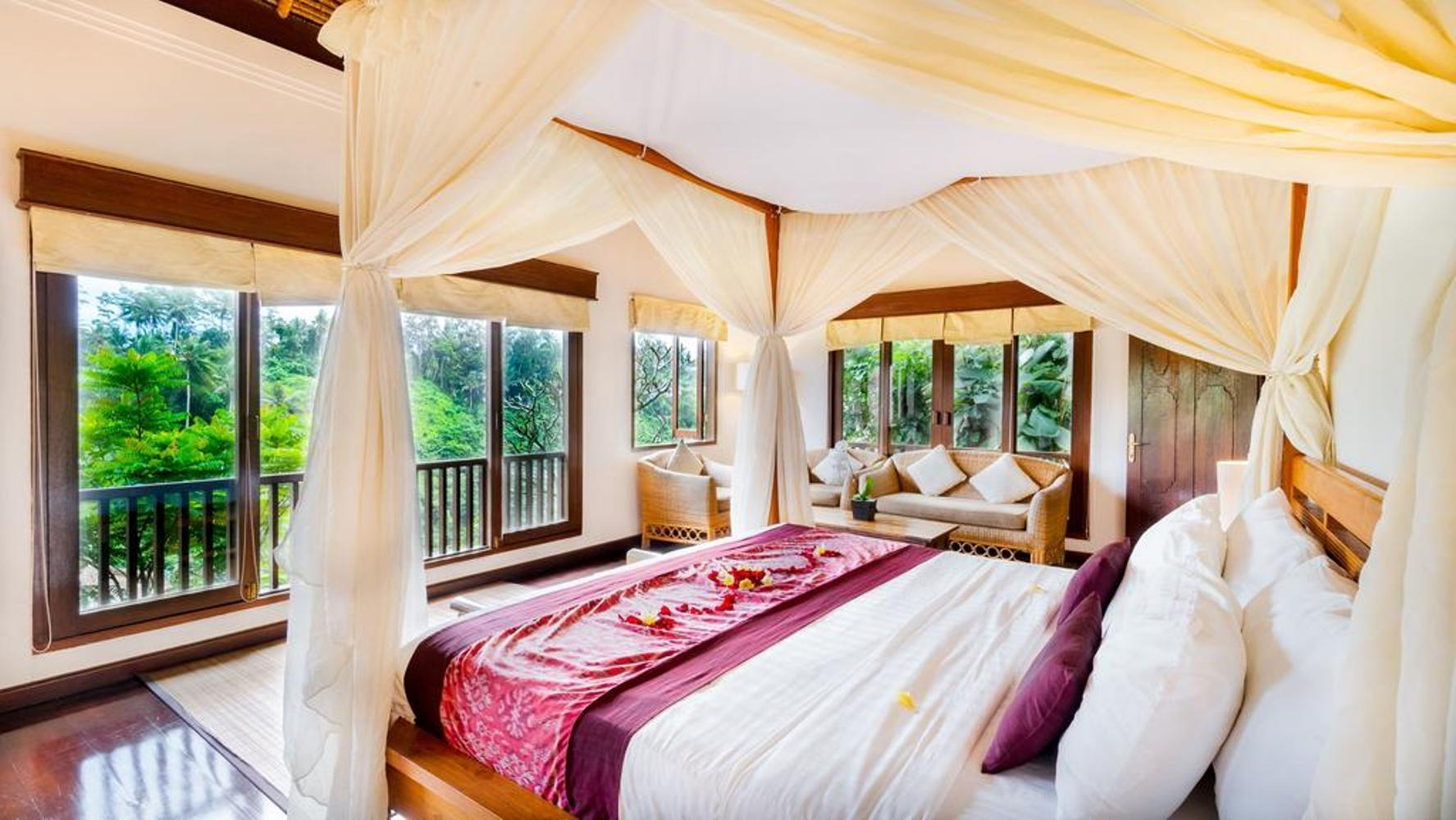 2BR Family Pool Villa With Valley+Brkfst@ 101 Ubud