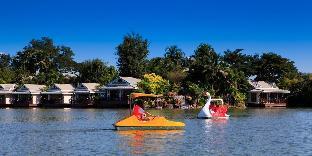 [カンペーン セーン]バンガロー(32m2)| 1ベッドルーム/1バスルーム Chawalun Resort Chamchuri Lake View Bungalow 8