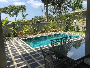 [プラエビーチ]スタジオ ヴィラ(67 m2)/2バスルーム Baan san Sabai, private  pool garden villa L