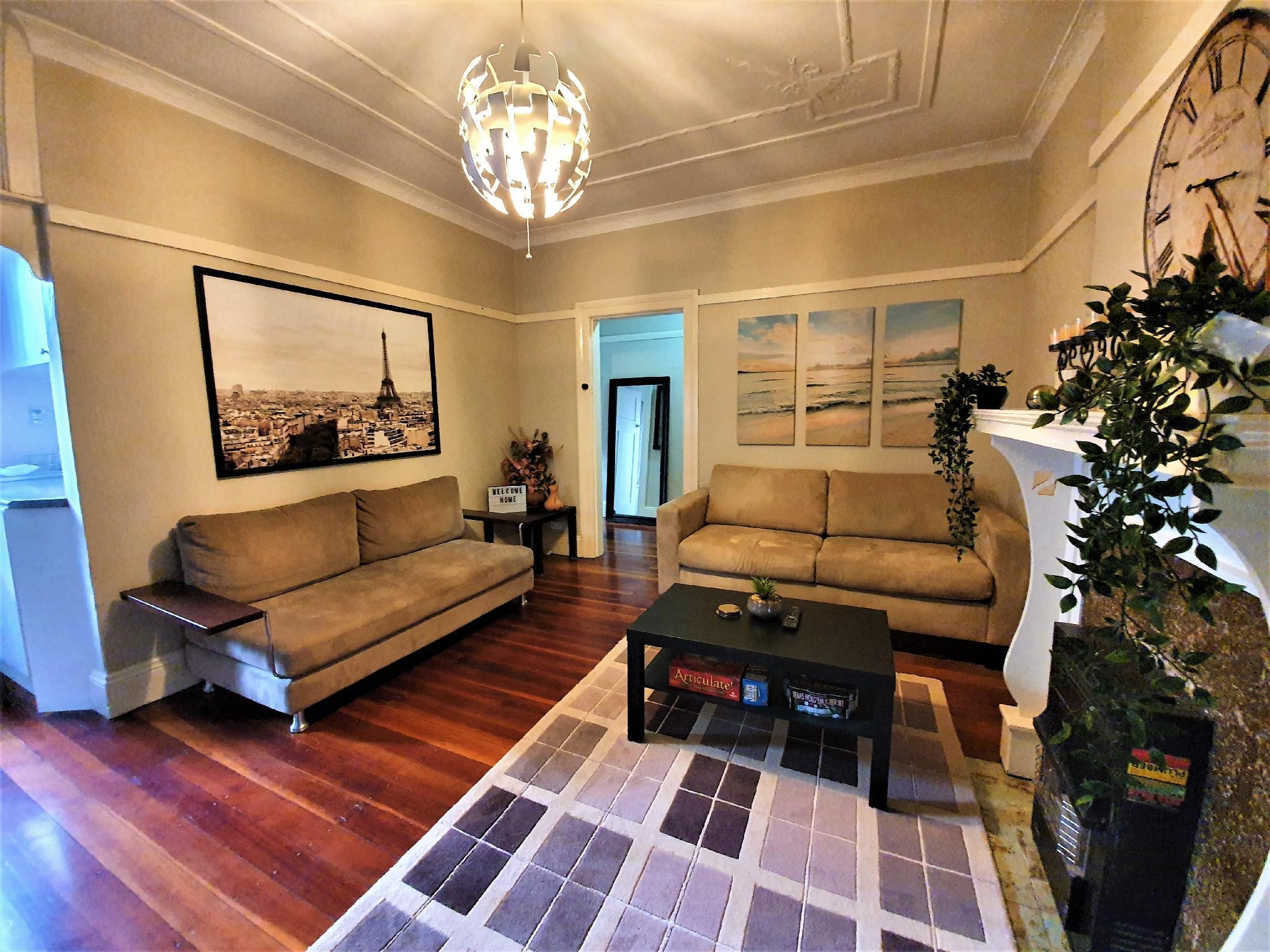 Beautiful Warm 2BR Family Inner West Sydney Home