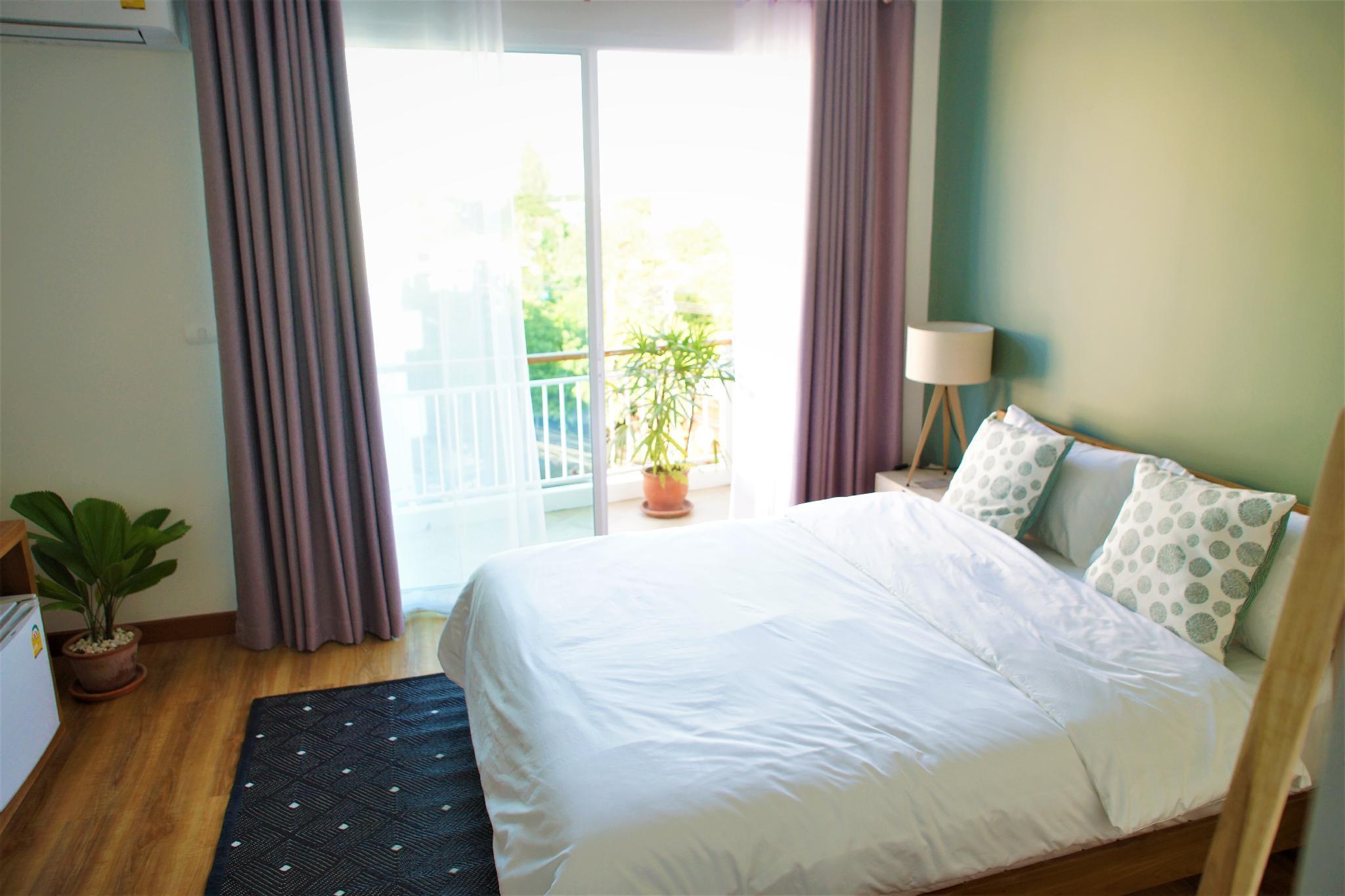 Breadfruit / Standard Room for One Person 401 สตูดิโอ อพาร์ตเมนต์ 1 ห้องน้ำส่วนตัว ขนาด 18 ตร.ม. – นิมมานเหมินทร์