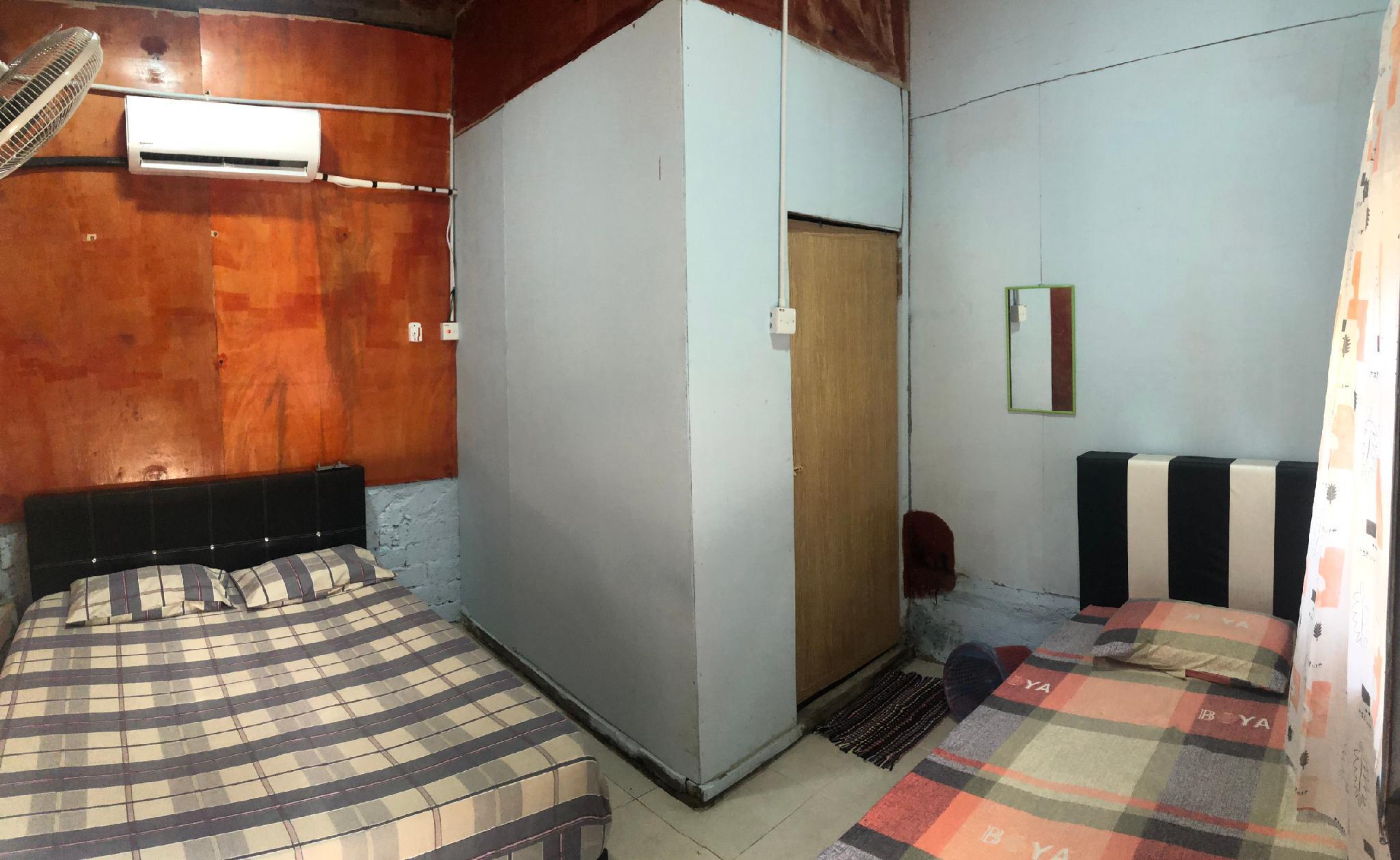 Aircond ZandZ Triple Room