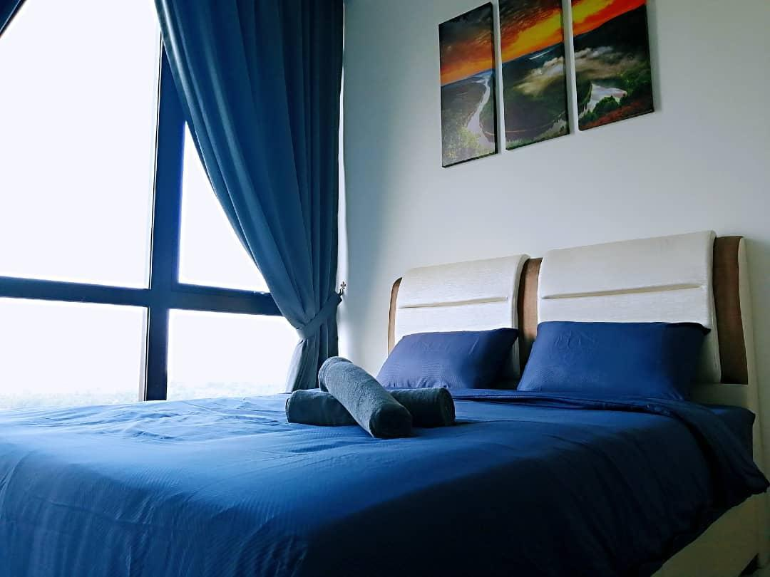 Homestay For 6pax 3BR City View Near Midvalley CIQ