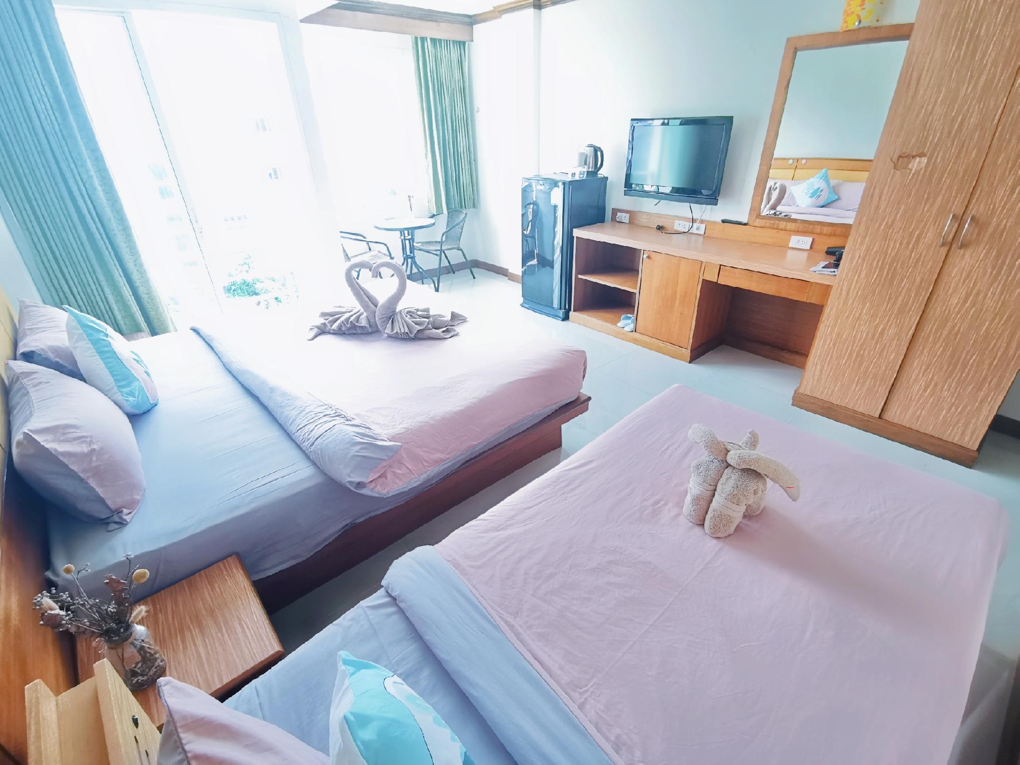 Patong Boutique 3 people Room 3 / Quiet / Clean อพาร์ตเมนต์ 1 ห้องนอน 1 ห้องน้ำส่วนตัว ขนาด 30 ตร.ม. – ป่าตอง