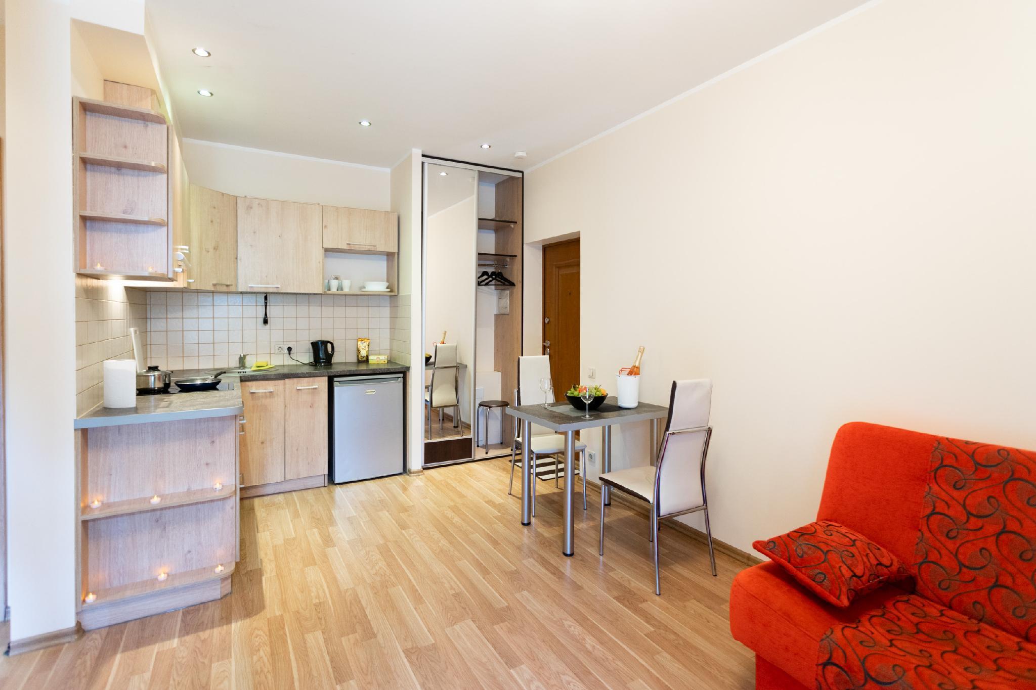 Cozy 1 Bedroom Apartment In Quiet Riga Center