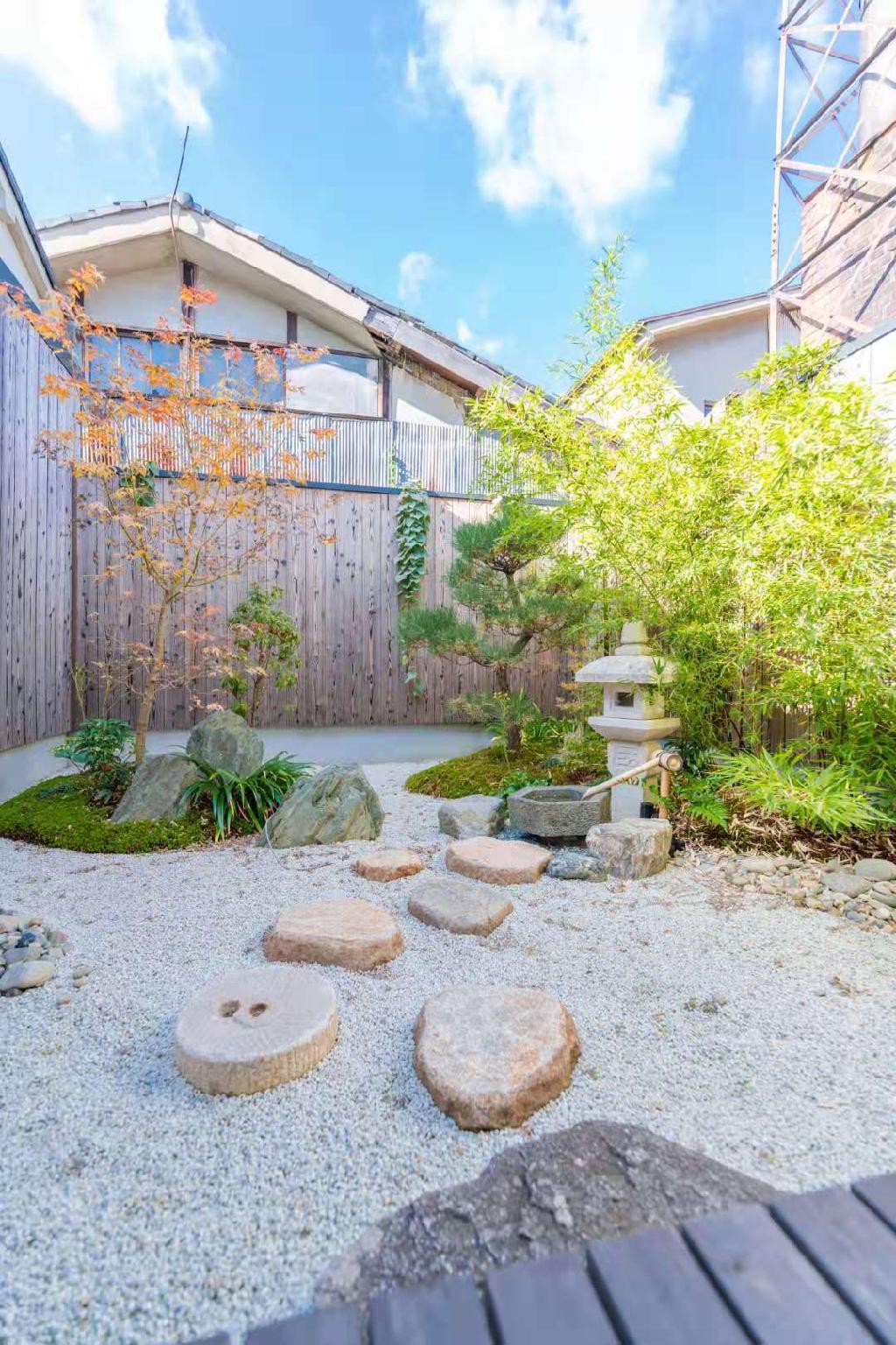 Japanese Machiya With Beautiful Garden And Garage