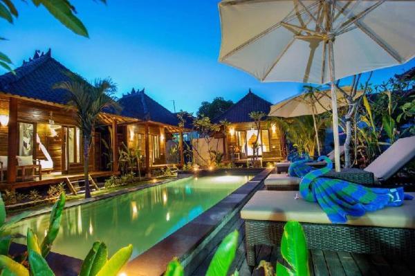 Dimel Tebu with Double Bed at Lembongan Bali