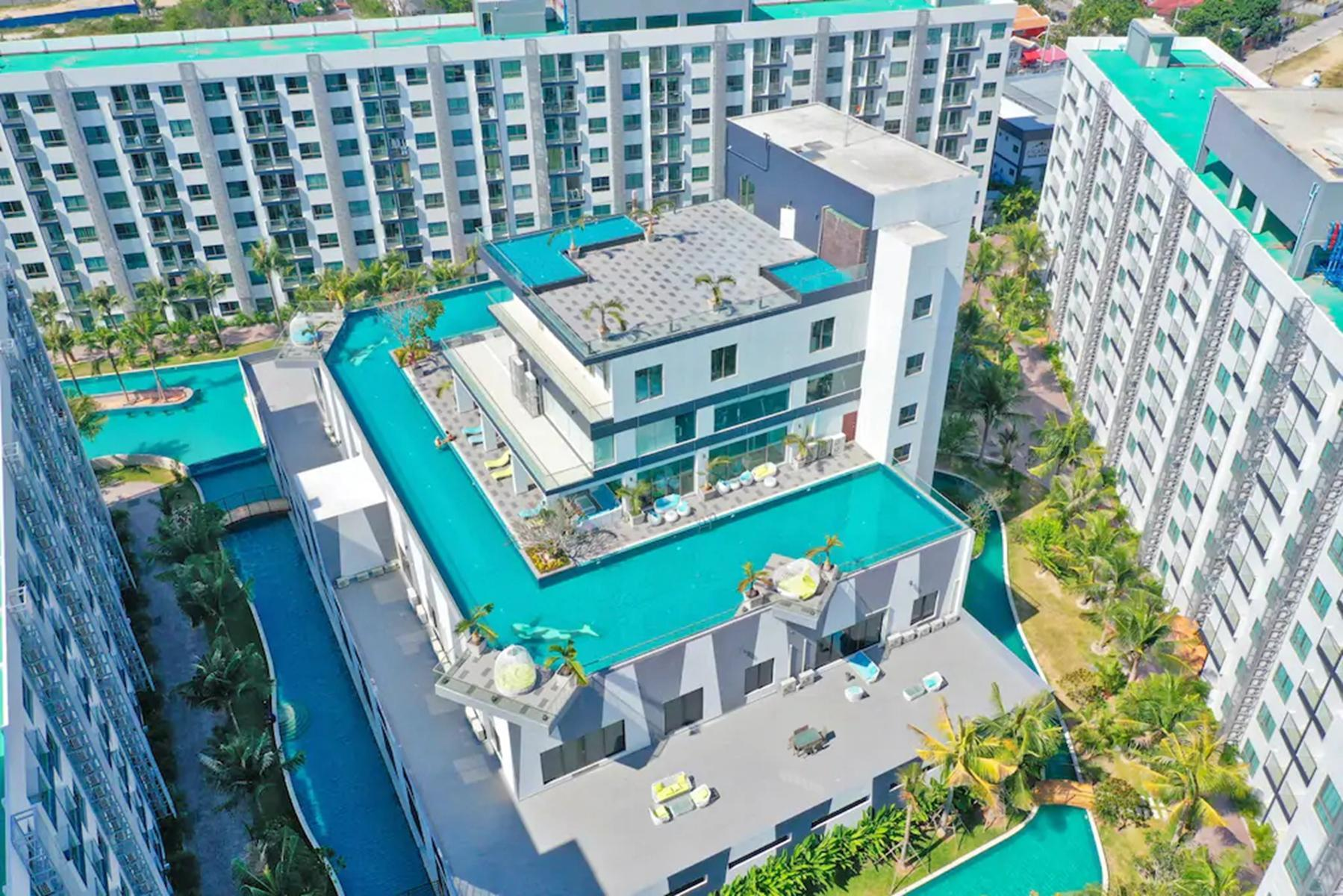 Arcadia Seaside Water Apartment Infinity Pool