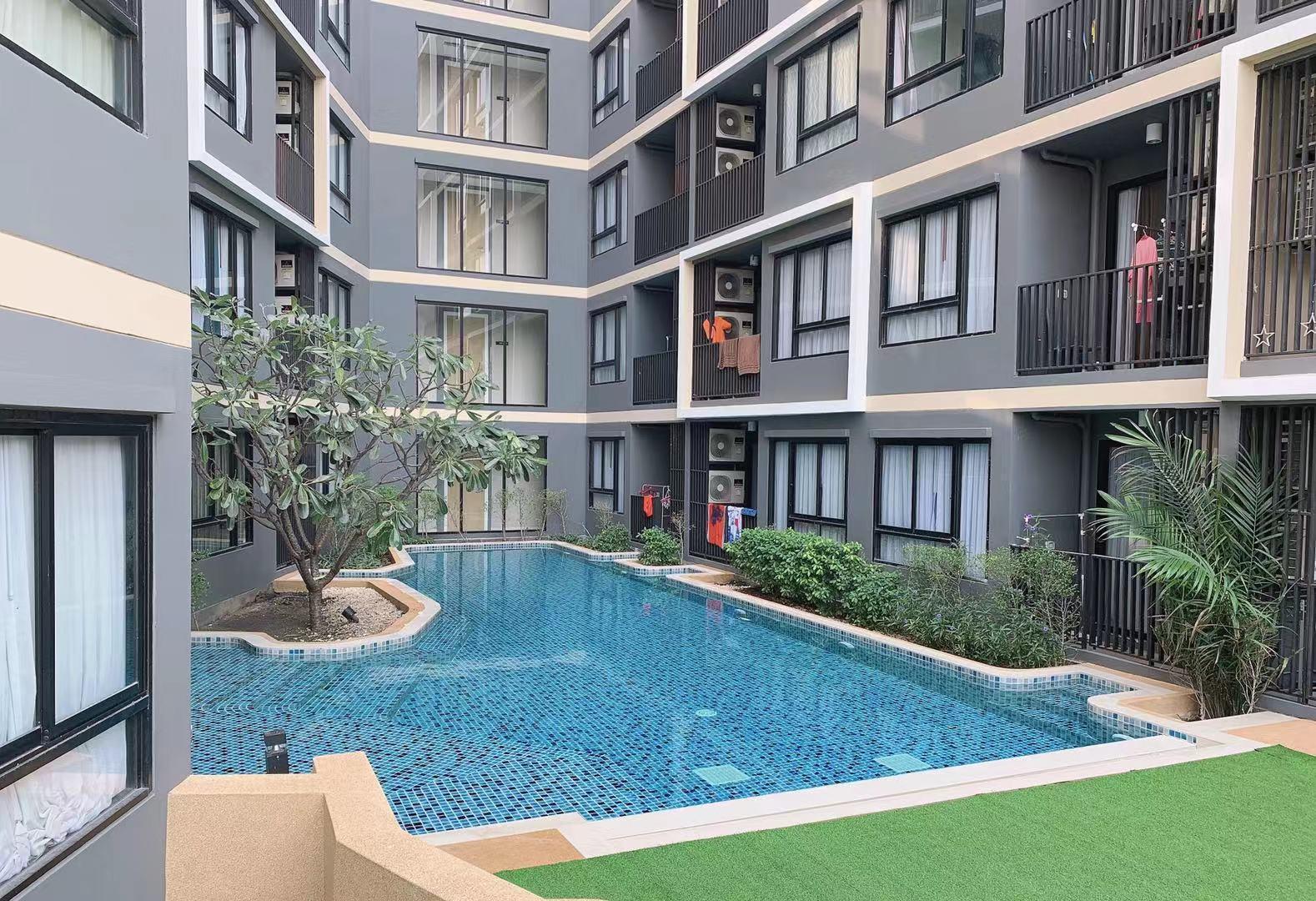 Pattaya Downtown THE URBAN ATTITUDE  Deluxe pool อพาร์ตเมนต์ 1 ห้องนอน 1 ห้องน้ำส่วนตัว ขนาด 50 ตร.ม. – พัทยากลาง