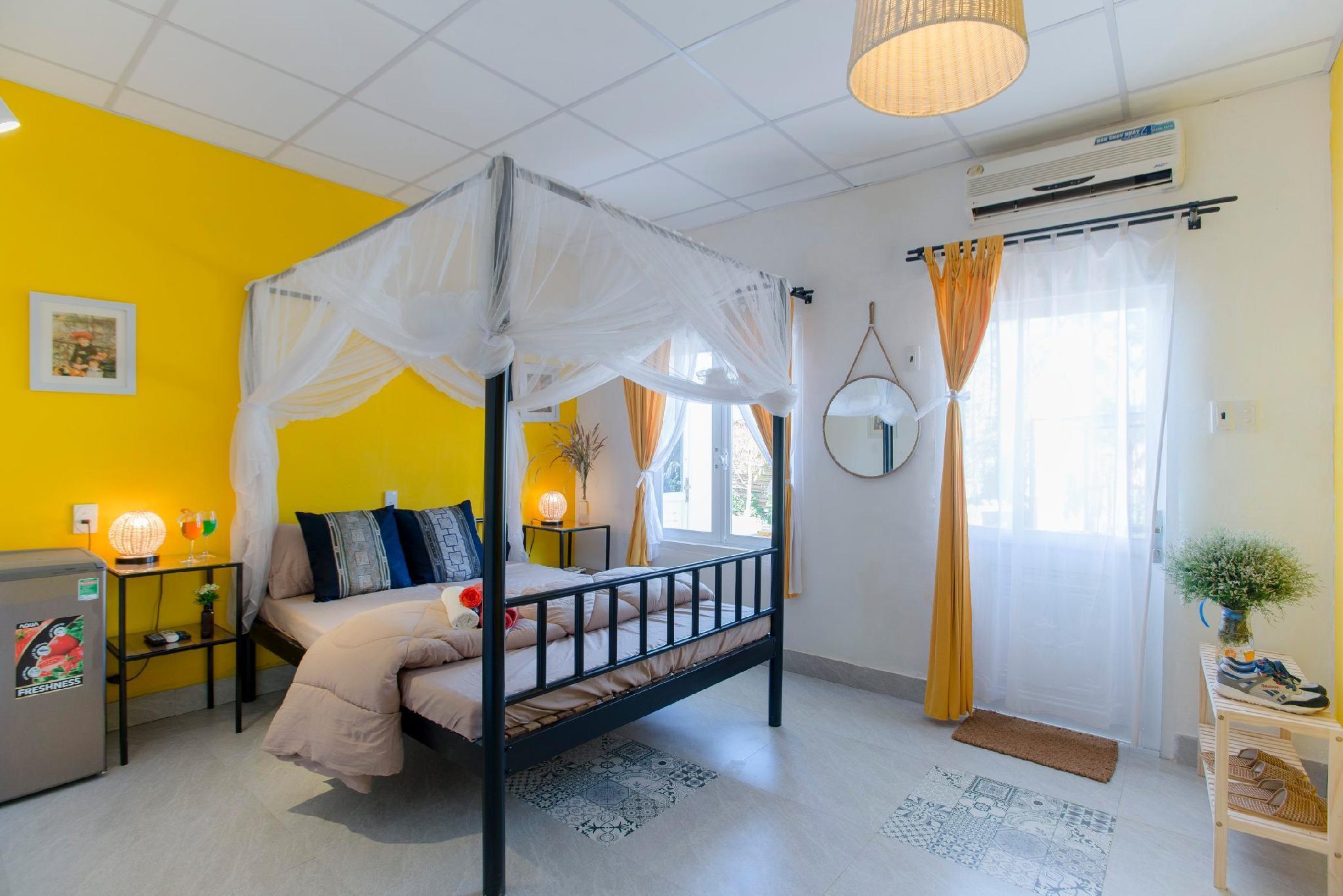 Room Yellow Y Nue Vuon Phap Homestay BMT