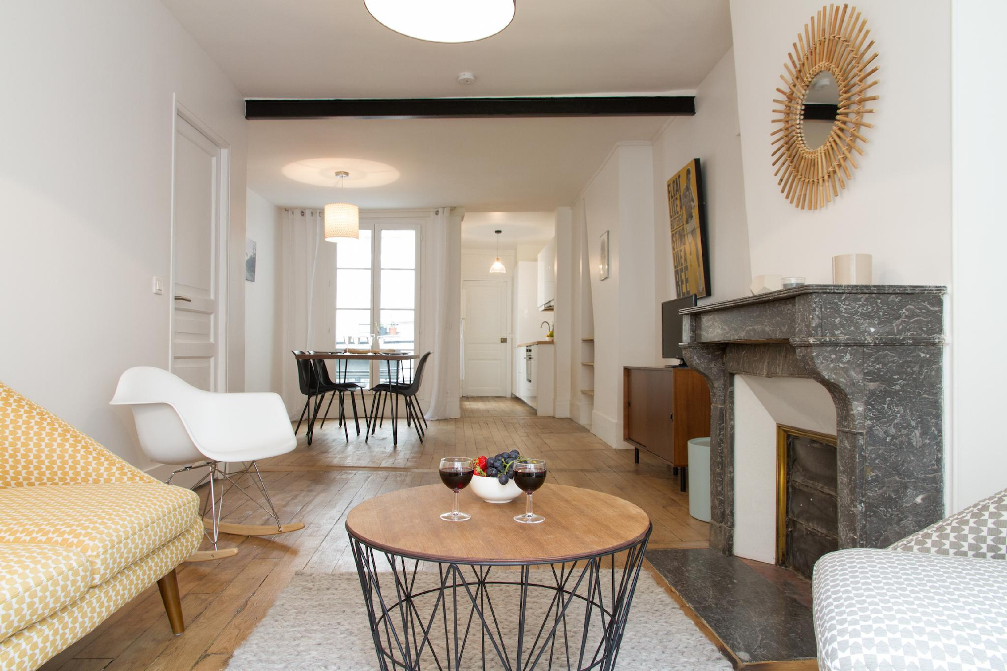 HEART OF PARIS MONTORGUEL  LOVELY 1BR BY CHATELET