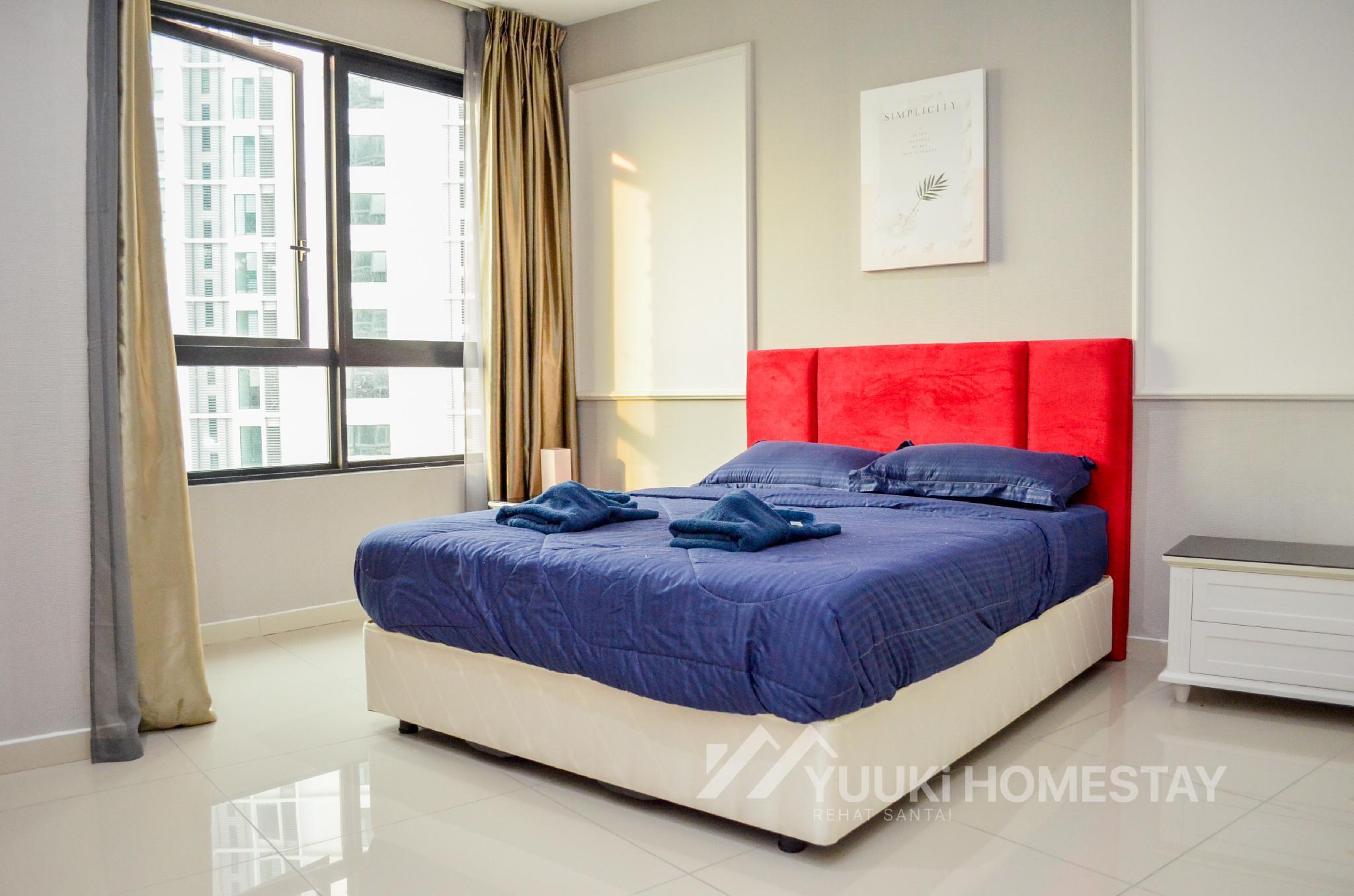 I City @ I Soho 1 BEDROOM @Yuuki Homestay  024U