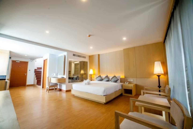 Romantic Junior Executive Suite at the Harbour อพาร์ตเมนต์ 1 ห้องนอน 1 ห้องน้ำส่วนตัว ขนาด 60 ตร.ม. – อ่าวต้นไทร