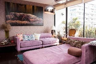 Chic, Luxurious 1BR in Upscale Area อพาร์ตเมนต์ 1 ห้องนอน 1 ห้องน้ำส่วนตัว ขนาด 80 ตร.ม. – สุขุมวิท