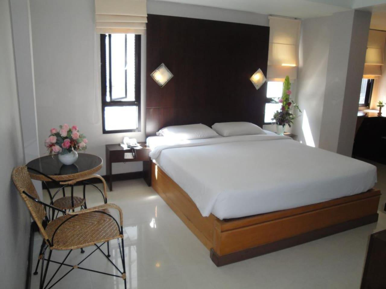 Beautiful double room 2 minutes walk to beach อพาร์ตเมนต์ 1 ห้องนอน 1 ห้องน้ำส่วนตัว ขนาด 52 ตร.ม. – พัทยากลาง