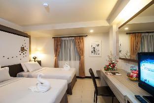 [パタヤ中心地]アパートメント(60m2)| 1ベッドルーム/1バスルーム Amazing location room Twin beds 2 minutes to beach