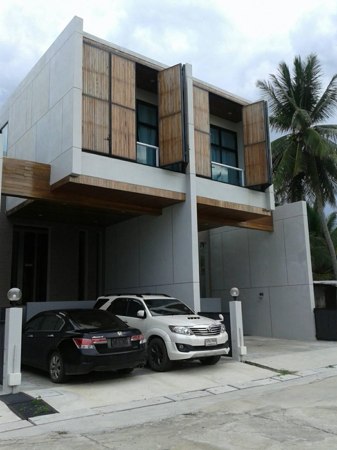 VIP Beach Sivilai (T8) Town Home Beach Front บ้านเดี่ยว 3 ห้องนอน 3 ห้องน้ำส่วนตัว ขนาด 65 ตร.ม. – ใกล้ใจกลางเมือง