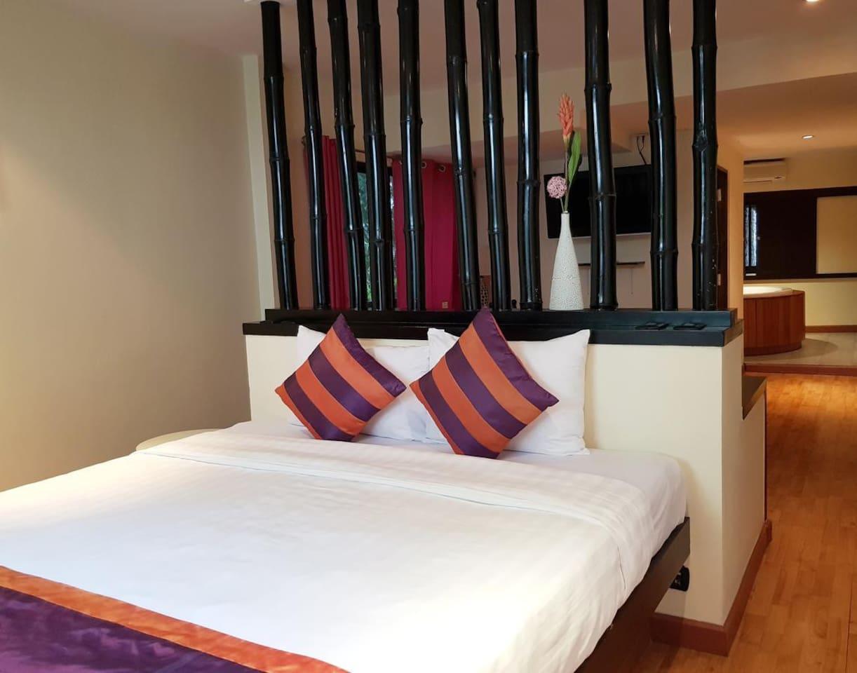Modern Accommodation 3.4 km. from Patpong อพาร์ตเมนต์ 1 ห้องนอน 1 ห้องน้ำส่วนตัว ขนาด 52 ตร.ม. – สุขุมวิท