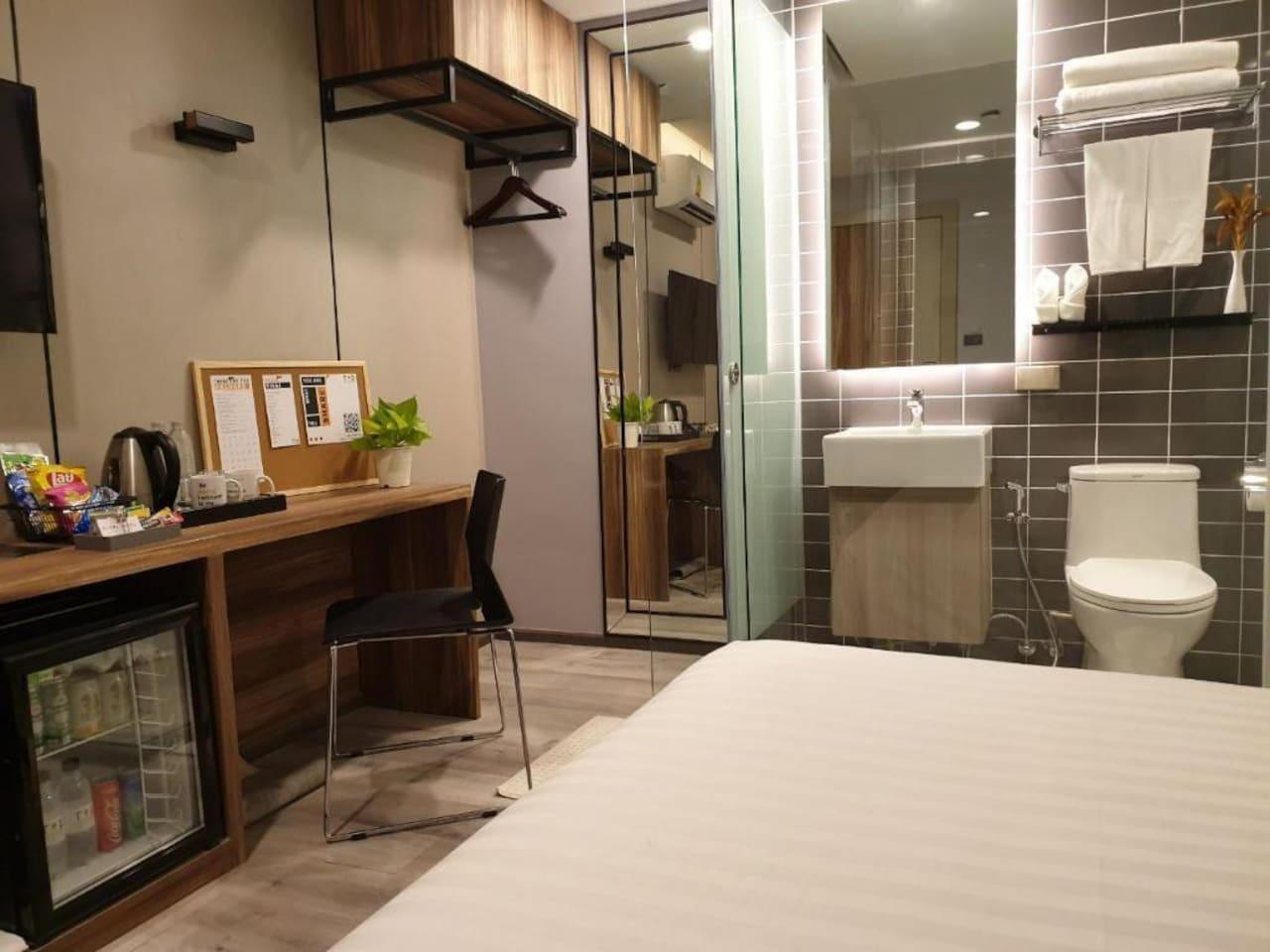 Comfortable Room 10 Minutes To BTS Phrom Pong