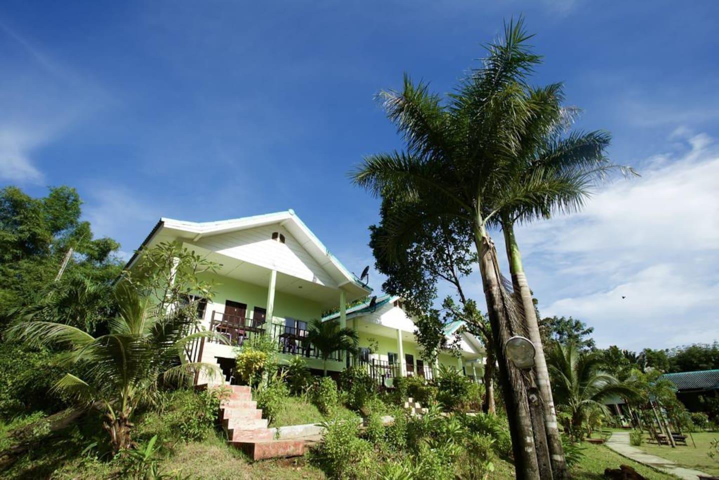 Beautiful Bungalow On Koh Mak Island 2 Mins Beach