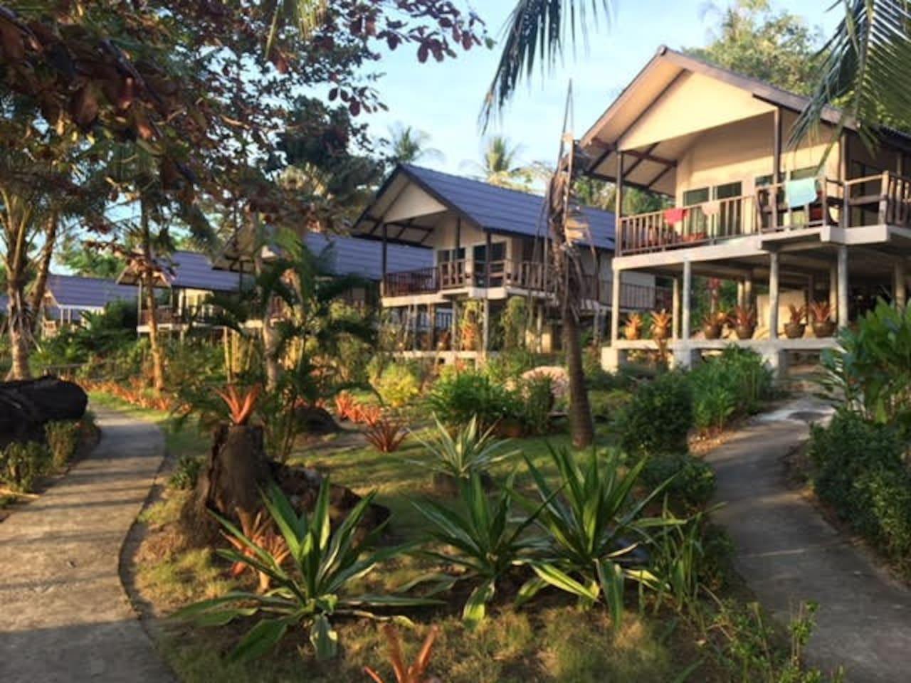 Incredible Sea View Villa on Beach Front บังกะโล 1 ห้องนอน 1 ห้องน้ำส่วนตัว ขนาด 60 ตร.ม. – หาดคลองเจ้า