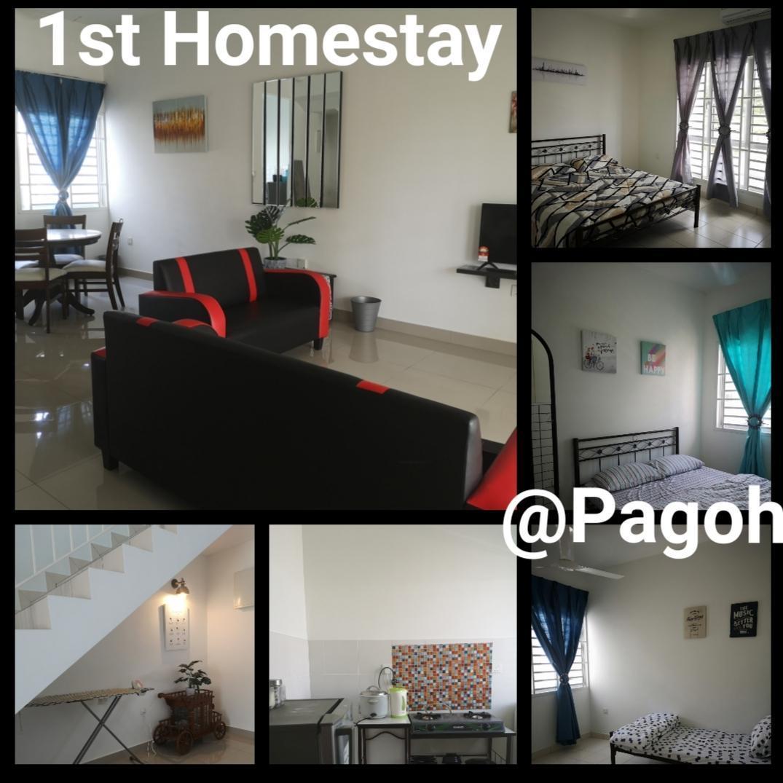 1st Homestay @ Pagoh Edu Hub
