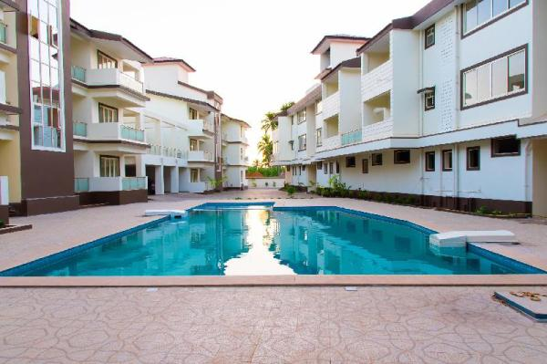 Varca 1BHK SWIMMING POOL  APARTMENT Close To Beach Goa