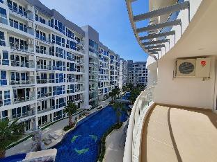 [パタヤ中心地]アパートメント(70m2)| 2ベッドルーム/1バスルーム 410 Pool View 2BR 6Pax Centrally located Grand Ave