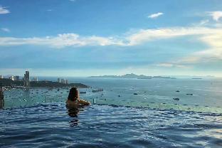 [パタヤ中心地]アパートメント(35m2)| 1ベッドルーム/1バスルーム A1 sea view room in the midst of Pattaya city