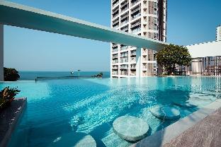 [ジョムティエンビーチ]アパートメント(30m2)| 1ベッドルーム/1バスルーム Aeras Sea View Infinity Pool & Luxury Fac Netflix