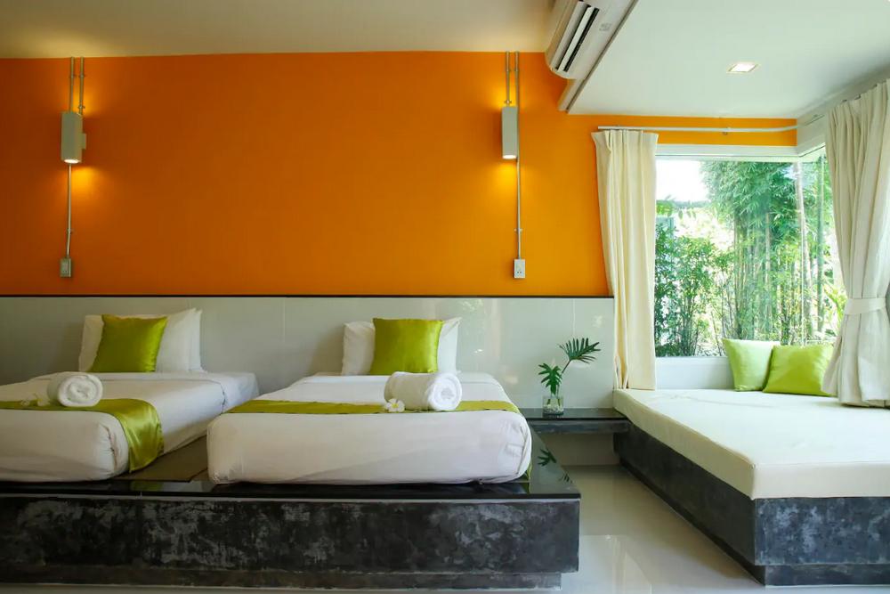 Aonang Paradise Resort  Deluxe Cottage6 1 ห้องนอน 1 ห้องน้ำส่วนตัว ขนาด 32 ตร.ม. – อ่าวนาง