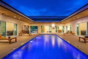[ナイハーン]ヴィラ(250m2)| 6ベッドルーム/6バスルーム Brand New 6 Bedroom Modern Luxury Pool Villa