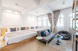 [トンブリー]アパートメント(30m2)| 1ベッドルーム/1バスルーム 3A*5 mins walk to BTS*ICONSIAM*Peaceful&Cozy*
