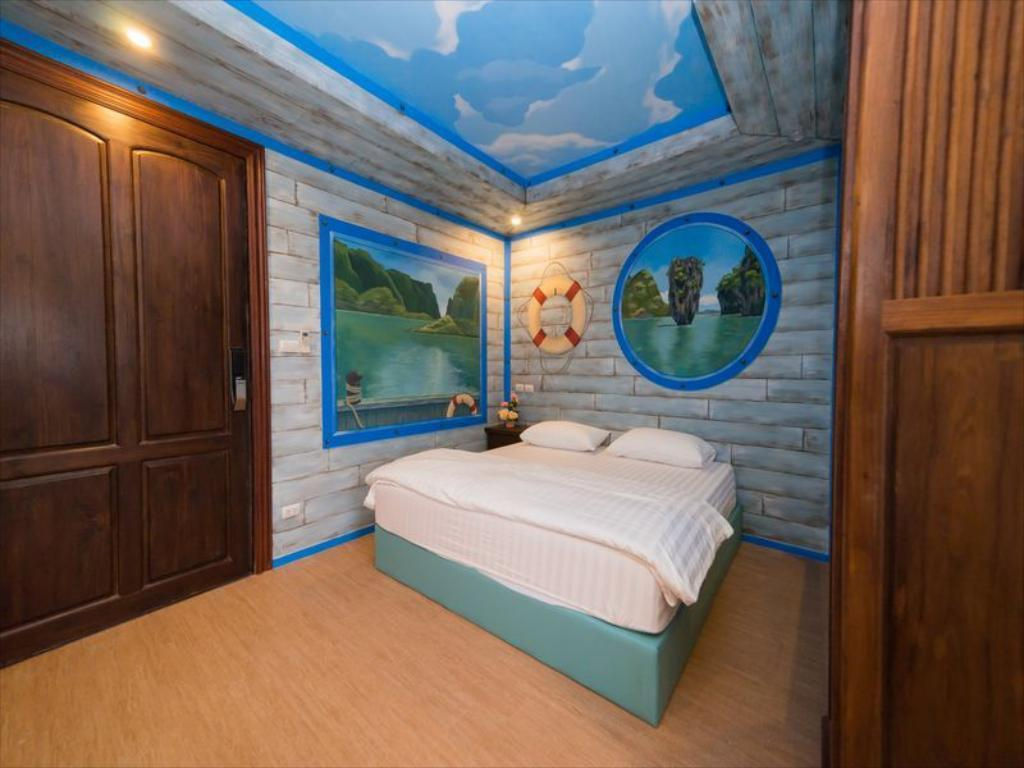 Thongtara House Boutique (Superior Double Room1) อพาร์ตเมนต์ 1 ห้องนอน 1 ห้องน้ำส่วนตัว ขนาด 35 ตร.ม. – บางนา