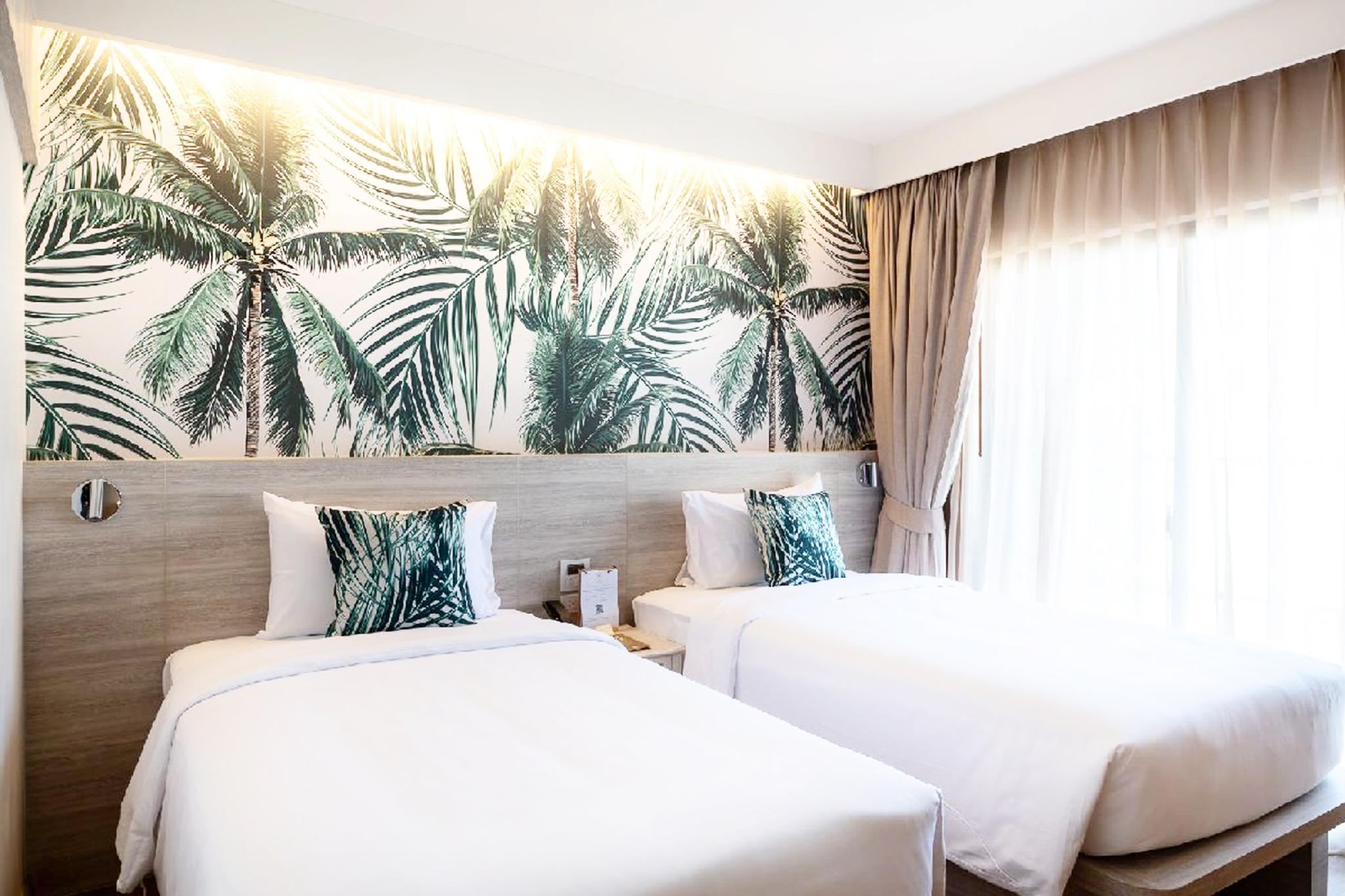 Tropical Escape Resort STU Pool View   PatongBeach อพาร์ตเมนต์ 1 ห้องนอน 1 ห้องน้ำส่วนตัว ขนาด 24 ตร.ม. – ป่าตอง
