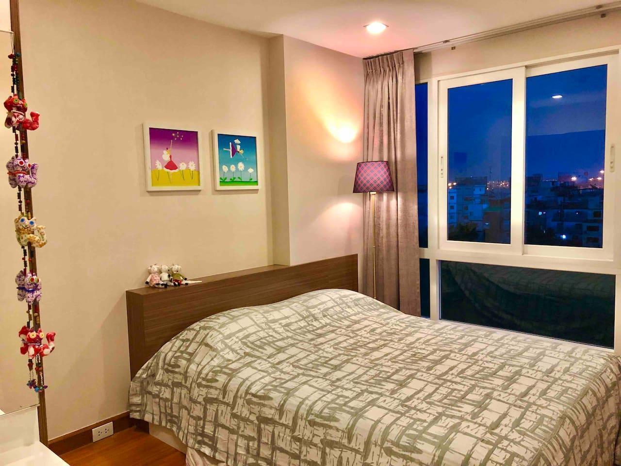 Nano Airport Condo อพาร์ตเมนต์ 1 ห้องนอน 1 ห้องน้ำส่วนตัว ขนาด 40 ตร.ม. – สนามบินสุวรรณภูมิ